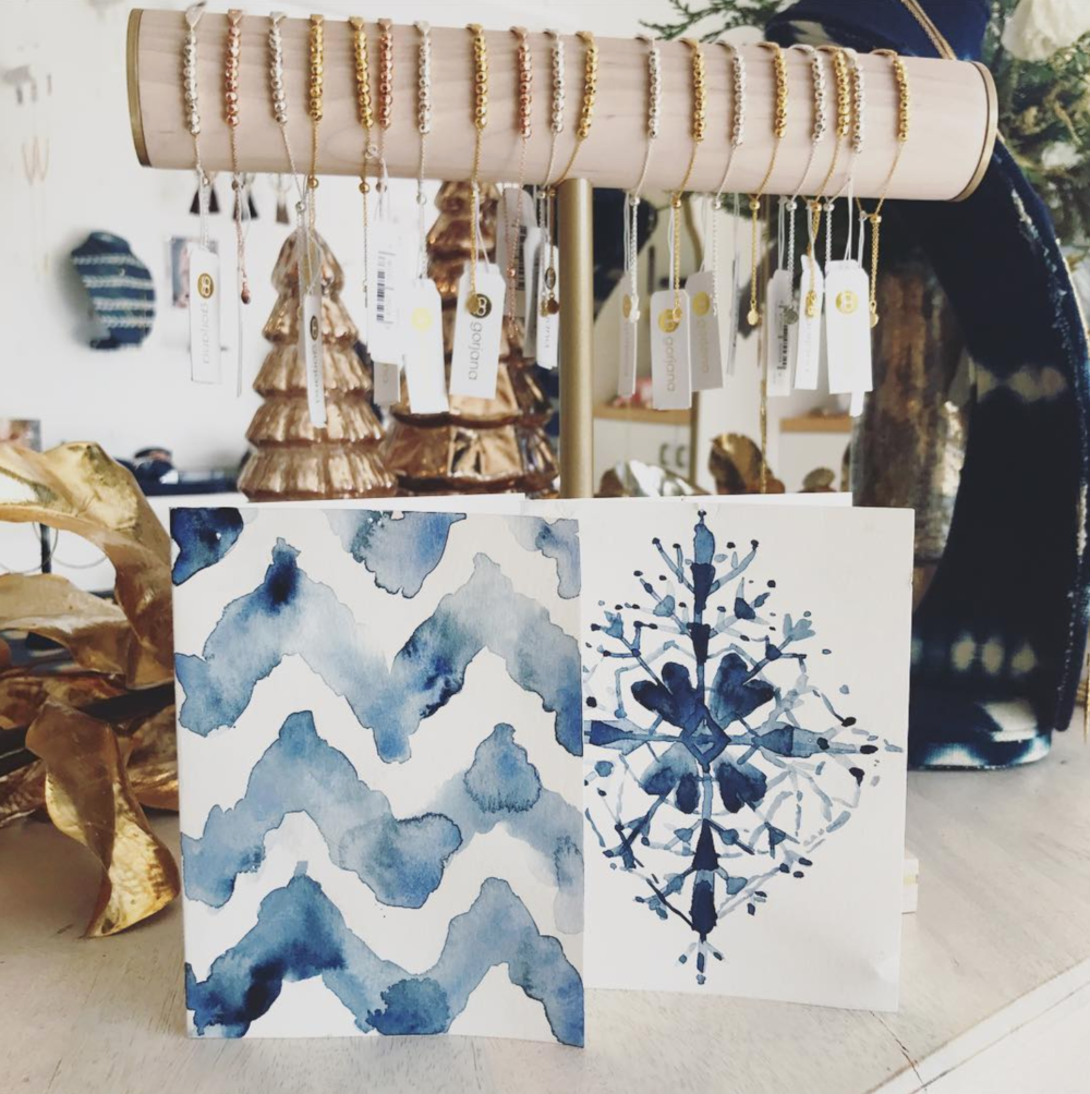 Shibori Watercolor Workshop by Ladyfolk Studio