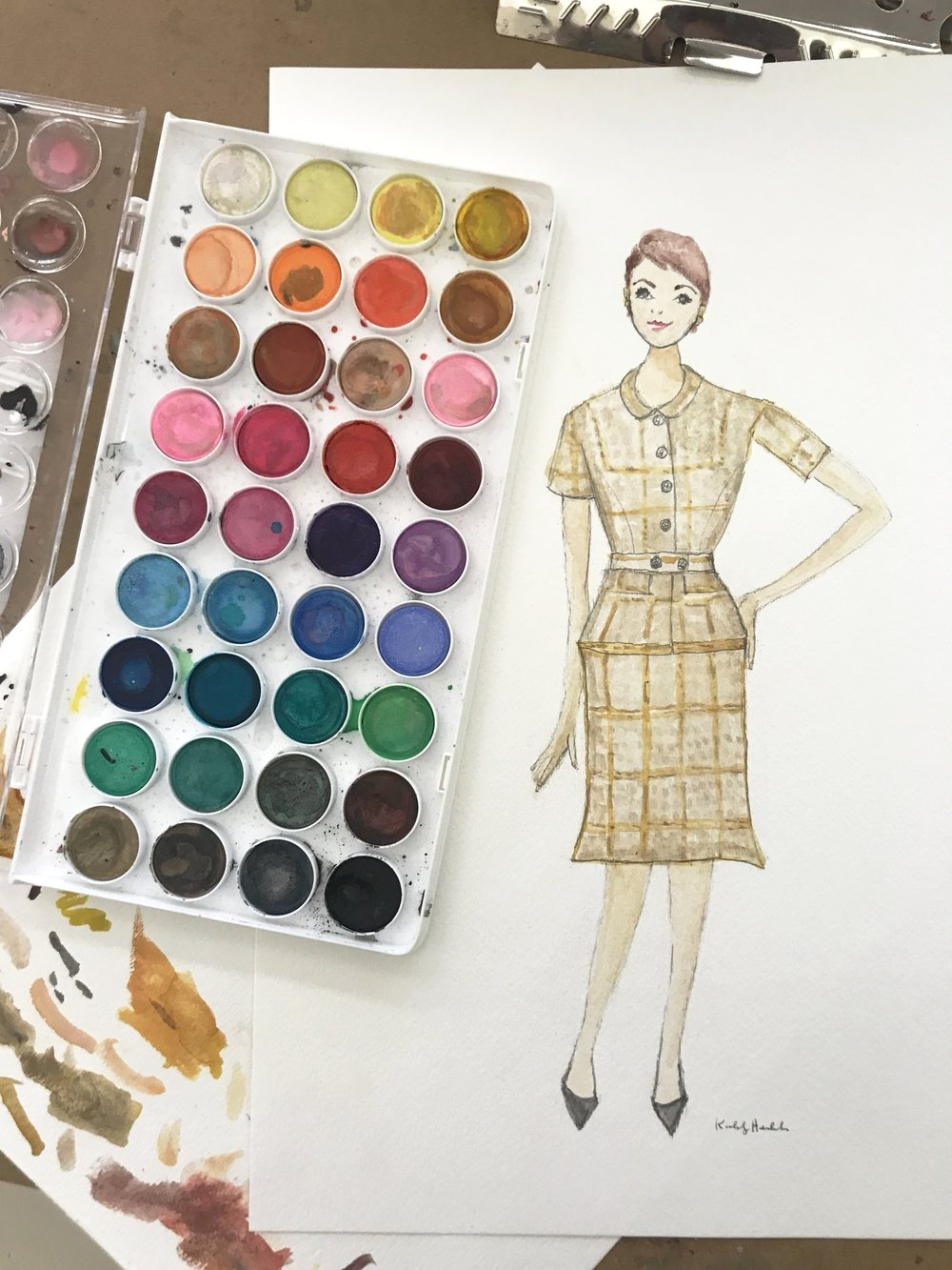 Fashion Illustration by Kimberly Heimbach