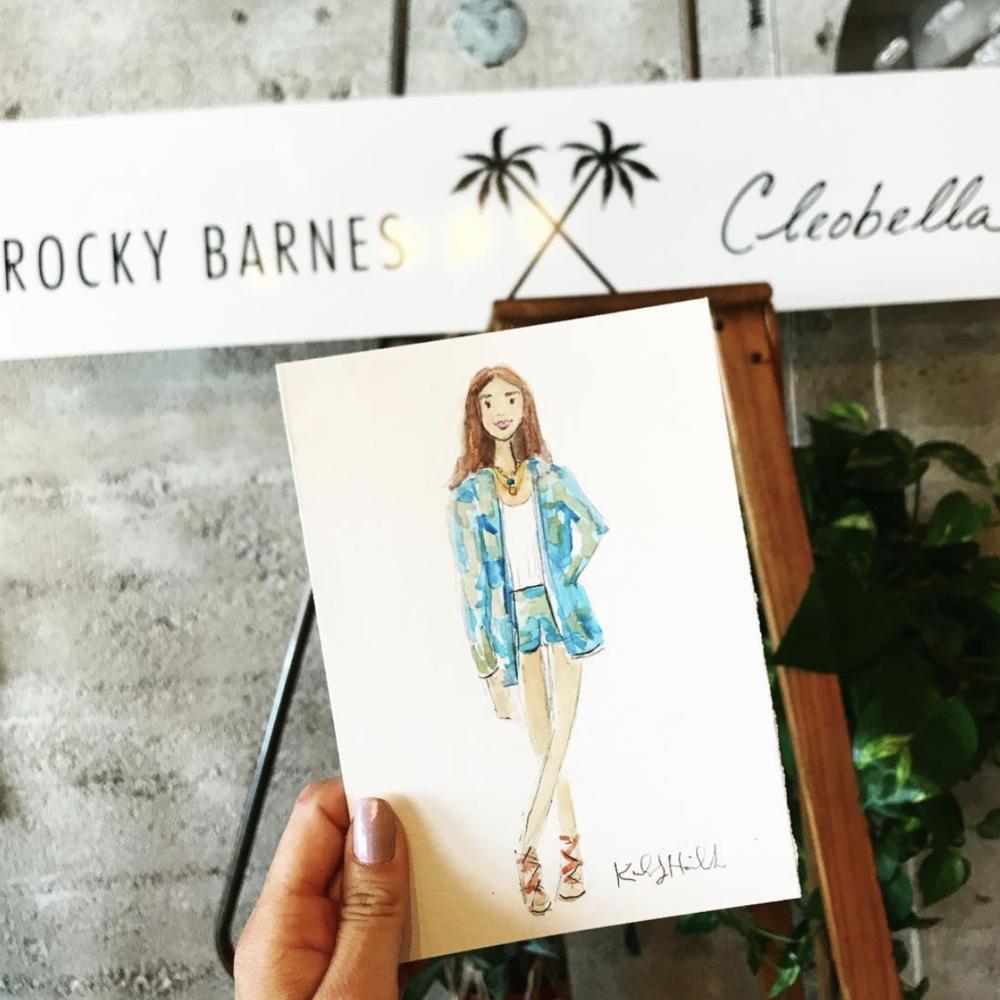 Rocky Barnes X Cleobella Event Recap