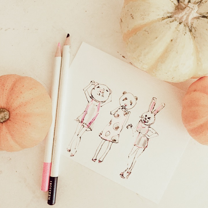 Ladyfolk Studio Halloween art