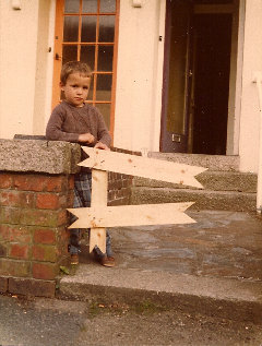 1979, aged 4, my attempt at a garden gate!