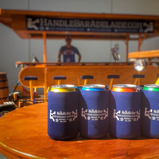 Practice responsible drinking. Wrap up with one of our new stubby holders to keep your beer ice cold on your tour!