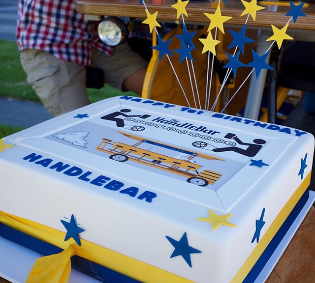 Happy first birthday to us! What an amazing first year we had in Adelaide and we are looking forward to many more! Thank you to @sugarandspicecakes for the awesome cake and all the wonderful pedalers who made this year so special!🎂🍻🎉