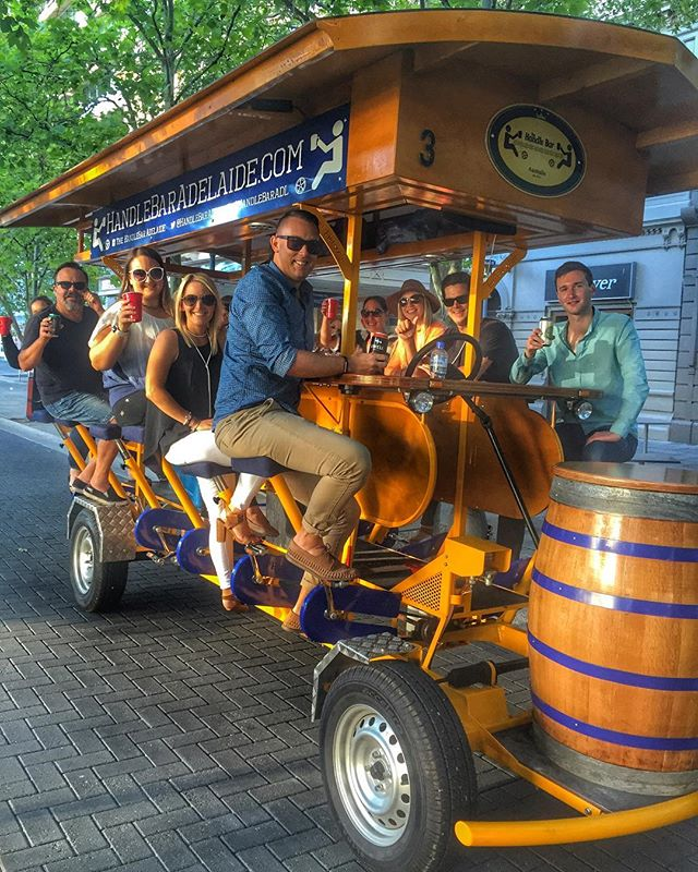 Fringe may be over, but the fun never stops on the HandleBar!🎉🍻🤘🏻🚲