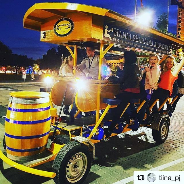 Nice night in Adelaide for a bike  ride! #repost
