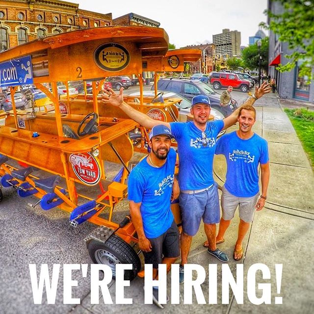As we near warmer weather, we have opened the doors to take on a few more employees for season 2. Do YOU have what it takes to Handle our Bar? If you are looking for a way to supplement your income, get outside, meet new people and do something that doesn't feel like a job, take 5 minutes and apply today!  https://goo.gl/forms/WqhrVr9KRfPeJkZu1