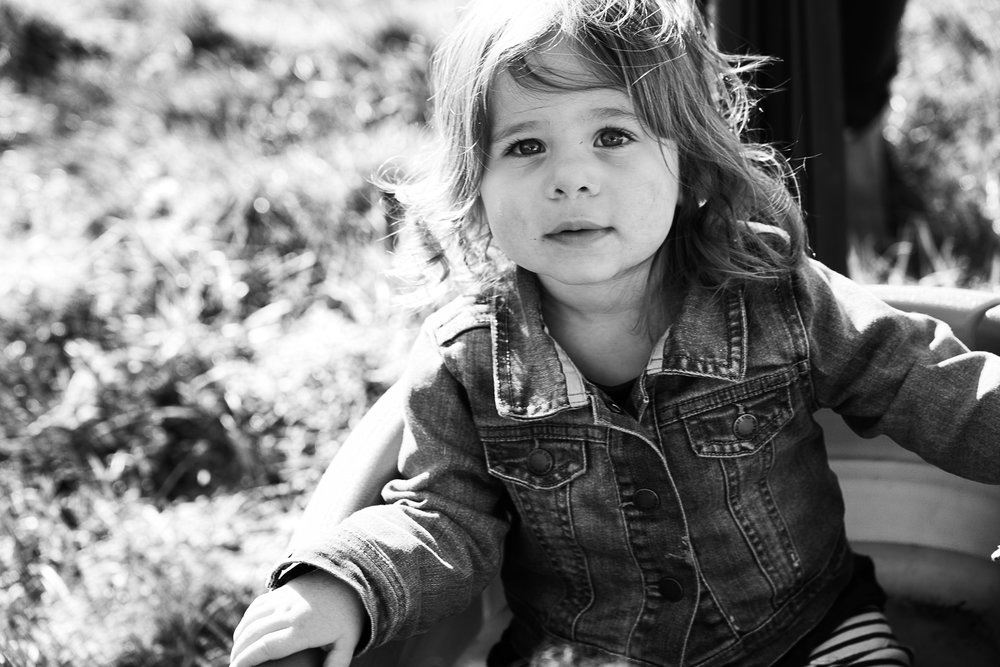my almost 2 year old. taken by uncle jesse of  two elk studios