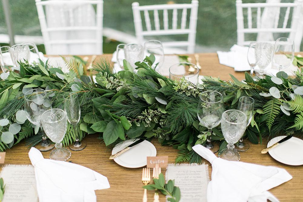 MAINE OCEANSIDE WEDDING by Boston based designer mStarr design