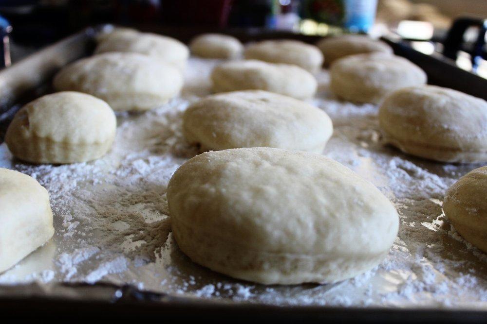 Donuts rising verrrrryyyyy slowly.