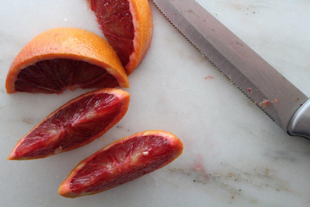 orange slices for garnishing