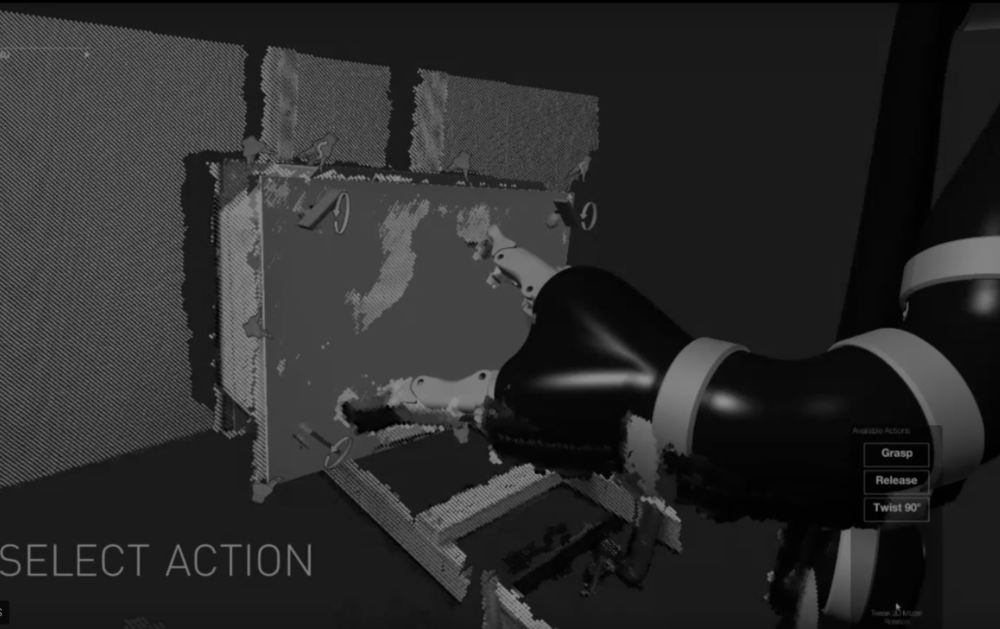 Robotic Scaffolding - disambiguating objects in the environment for robotic interaction