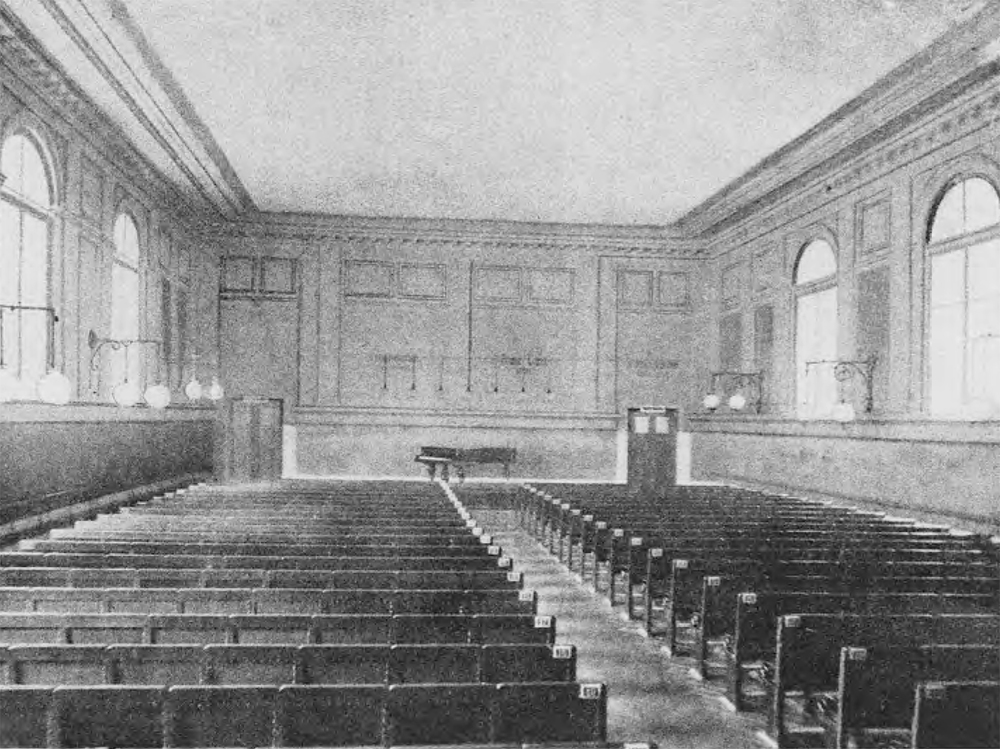 Bosendorfer Saal, Vienna - converted from a former riding hall in the late 19th Century