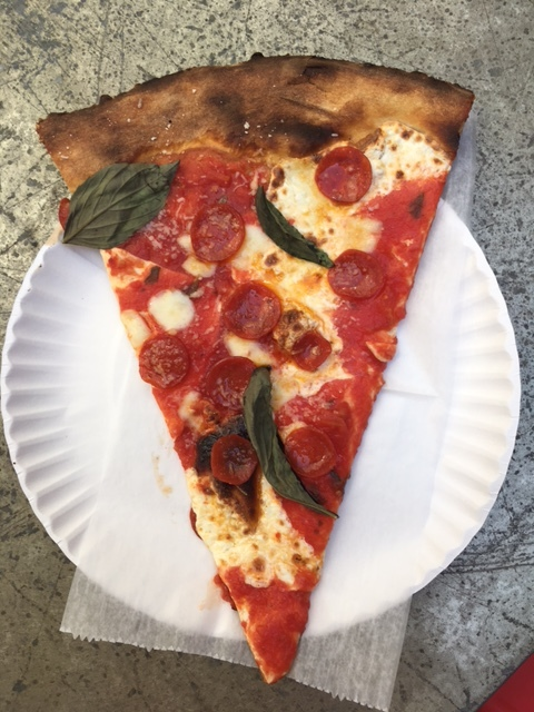 Table 87 pepperoni slice