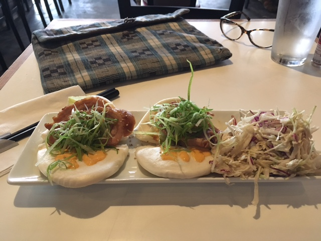 Two Bao at Jin Ramen