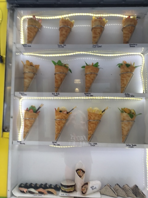 Obligatory Japanese fake food display