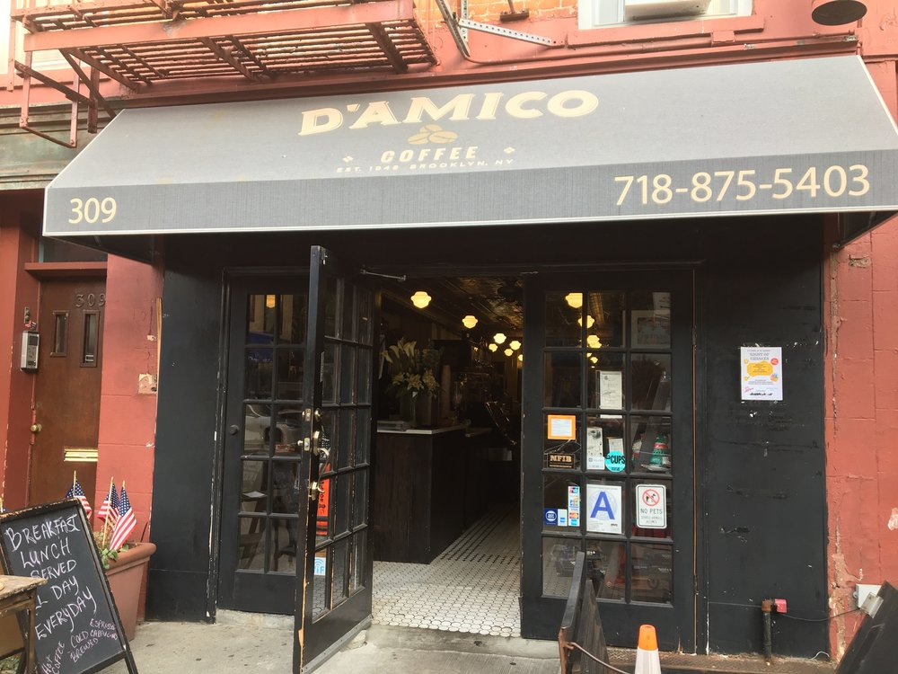 D'Amico's...I miss the roasting aroma