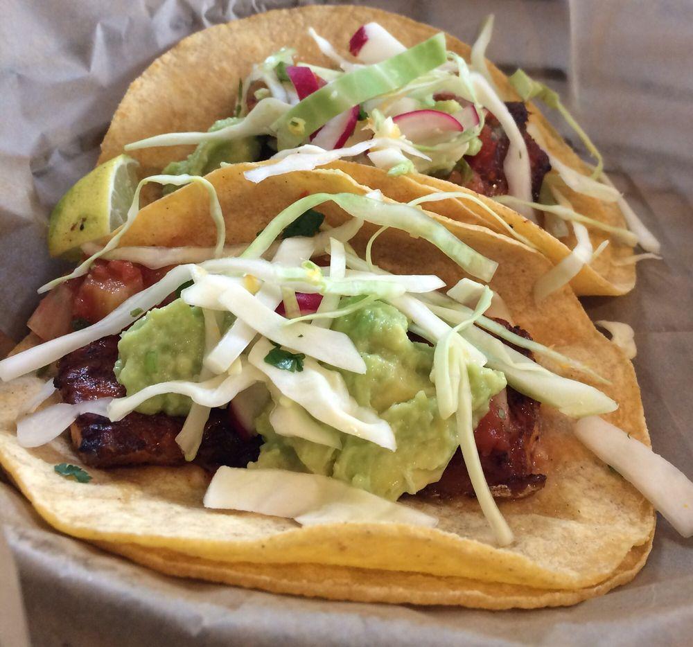 Fish Tacos at Meraki, Litchfield