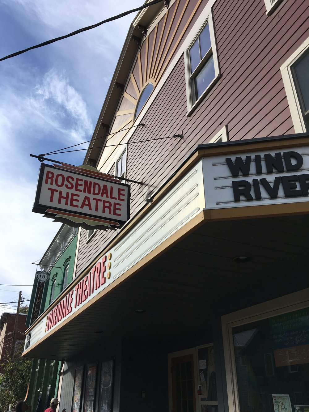 Funky Rosendale theater