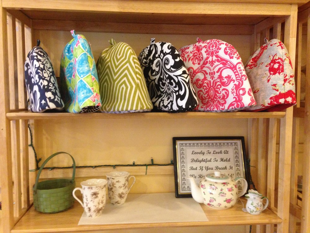Tea cozies...Don NOT put on head!