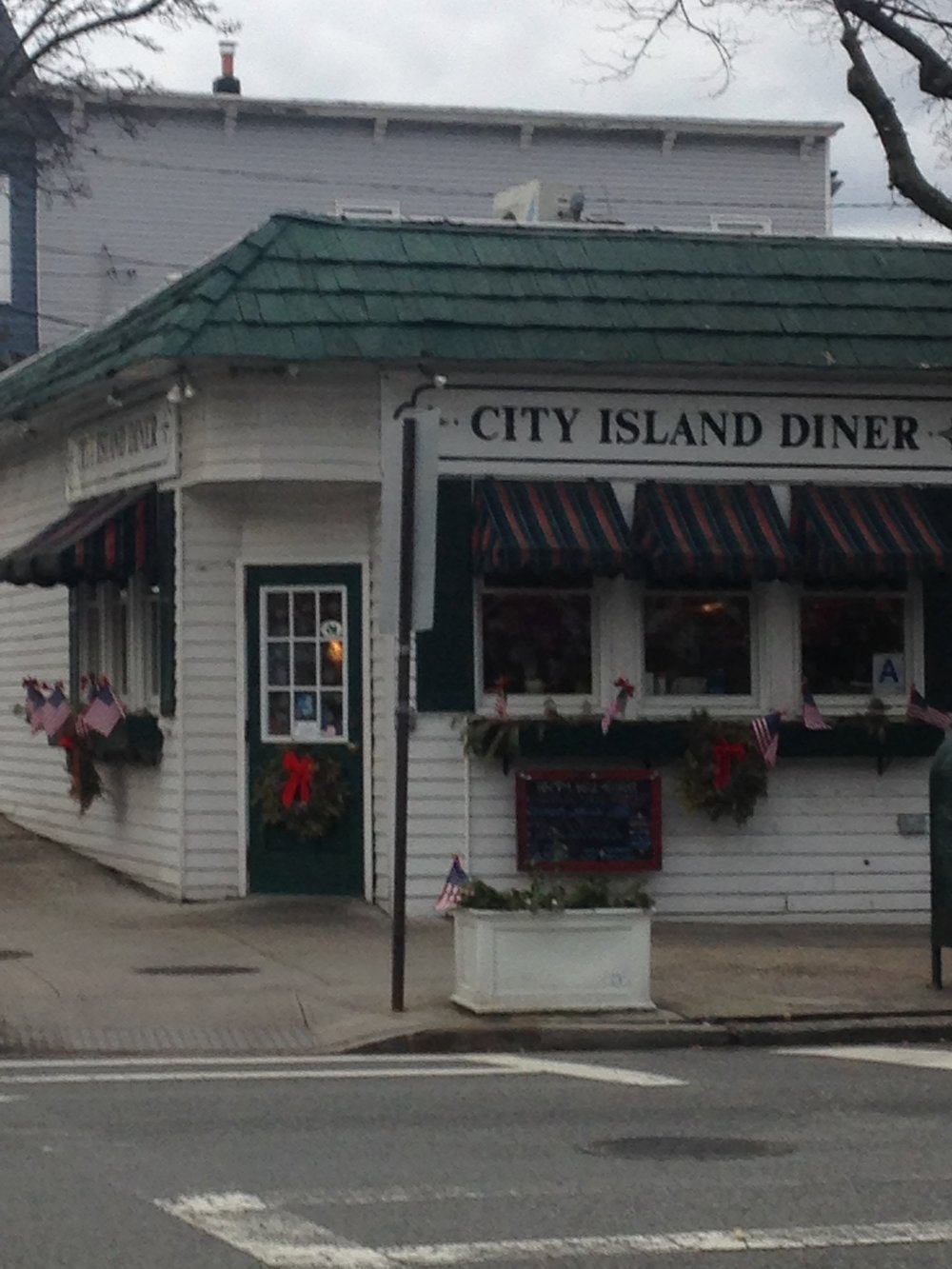 """City Island Diner, with """"Snug"""" next door"""