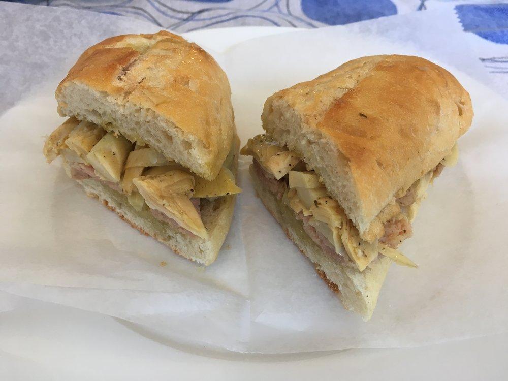 Paisa--with artichoke and tuna
