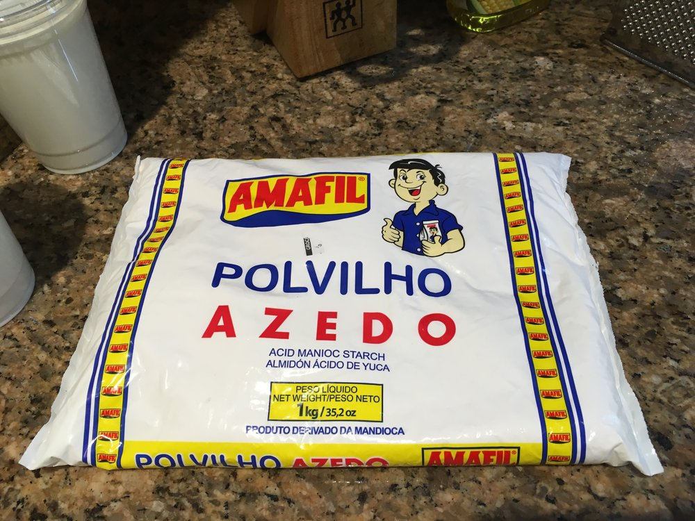 "Brazilian ""sour"" cassava flour"