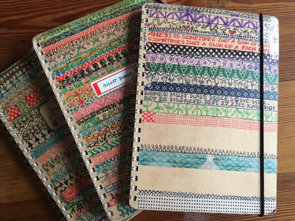 My bullet journals
