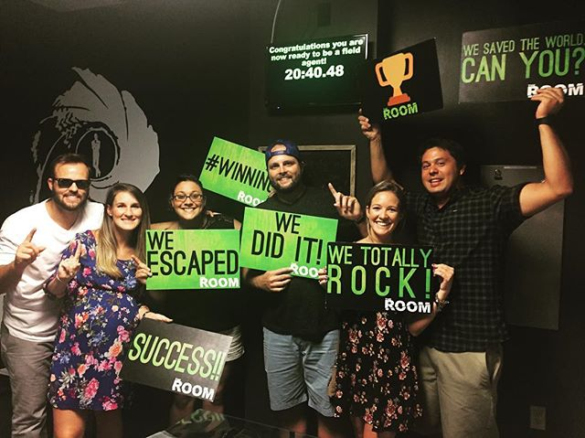 These escape room newbies beat our record in Classified by 1:37!!! Congratulations! #theroomvb #escaperooms #escaperoom #puzzles #riddles #escaperoomvb #escaperoomvirginiabeach #escaperoomsvirginiabeach #hrva #757 #thingstodo #hamptonroads #vabch #vabeach #757 #757escaperooms