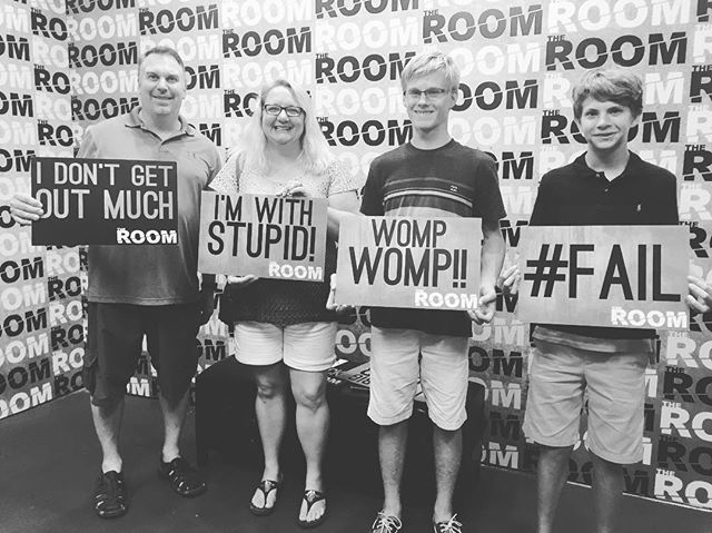 So close!!! Come back and try again! #theroomvb #escaperooms #escaperoom #puzzles #riddles #escaperoomvb #escaperoomvirginiabeach #escaperoomsvirginiabeach #hrva #757 #thingstodo #hamptonroads #vabch #vabeach #757 #757escaperooms