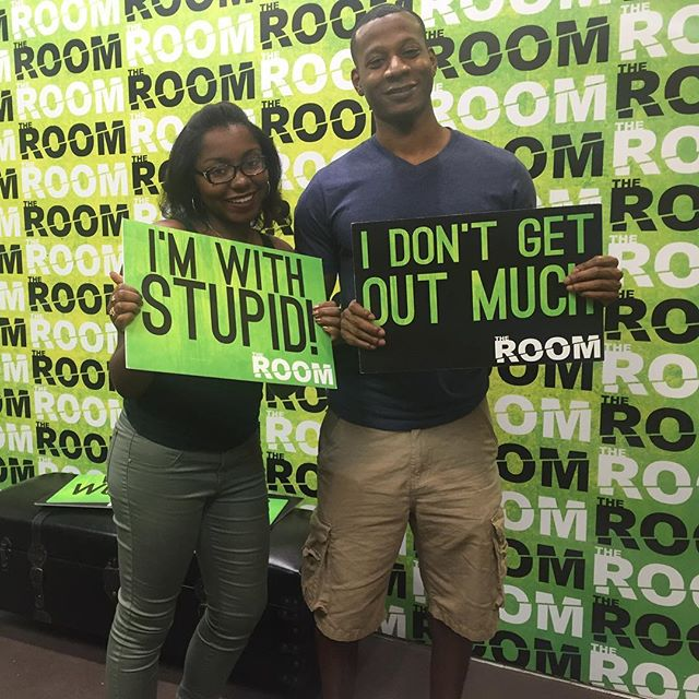 You guys were not stupid at all! Great try. Had a blast! #theroomvb #escaperooms #escaperoom #puzzles #riddles #escaperoomvb #escaperoomvirginiabeach #escaperoomsvirginiabeach #hrva #757 #thingstodo #hamptonroads #vabch #vabeach #757 #757escaperooms
