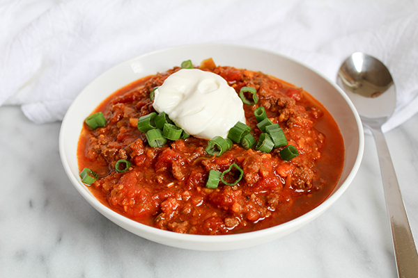 Paleo Sweet Potato Chili