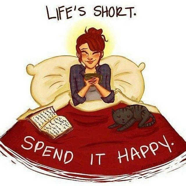 84543-Lifes-Short-Spend-It-Happy