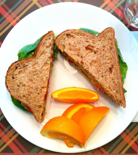 curried sandwich
