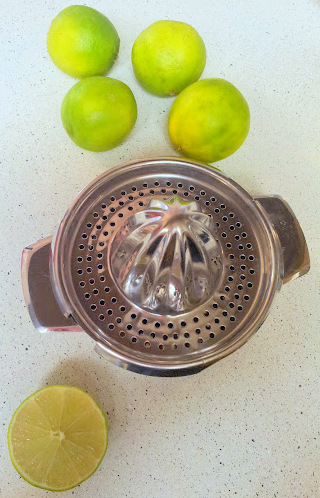 Limes and juicer 2