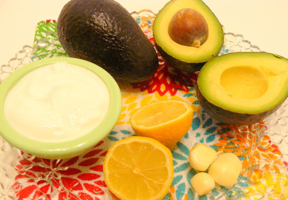 Avocade Dip Ingredients