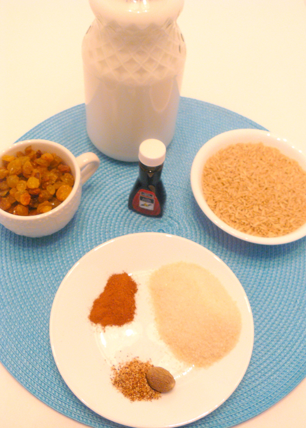 Coconut Rice Pudding Ingredients