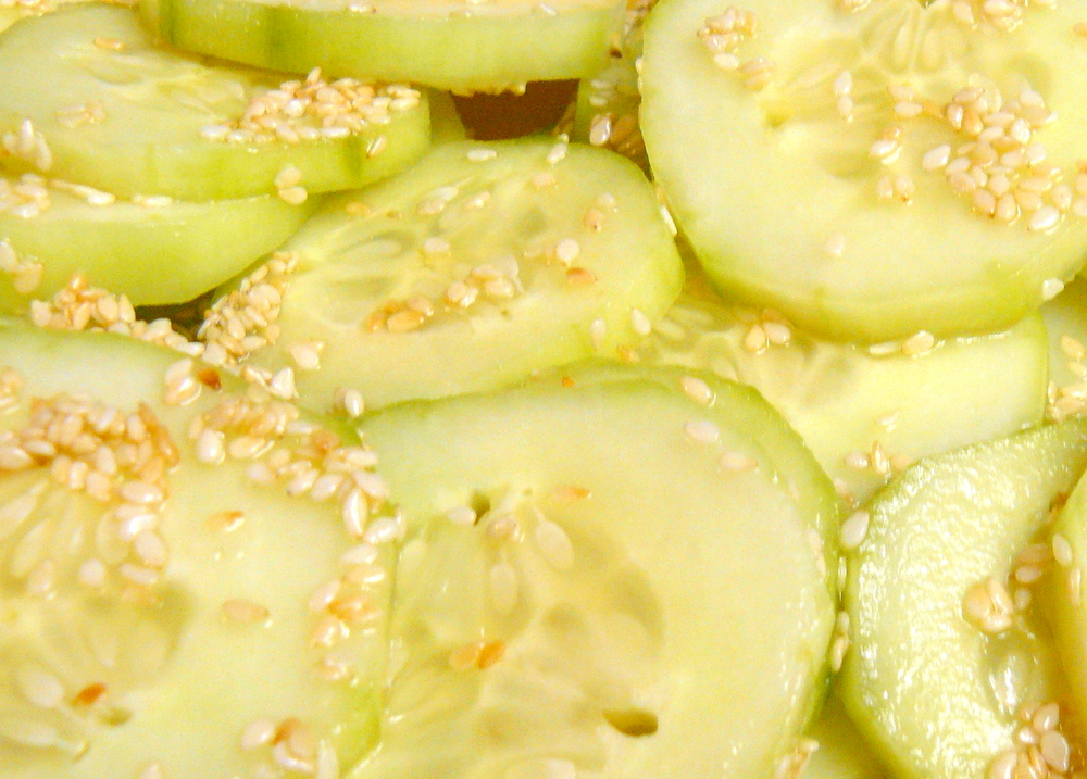 Cucumber Sesame Salad 2