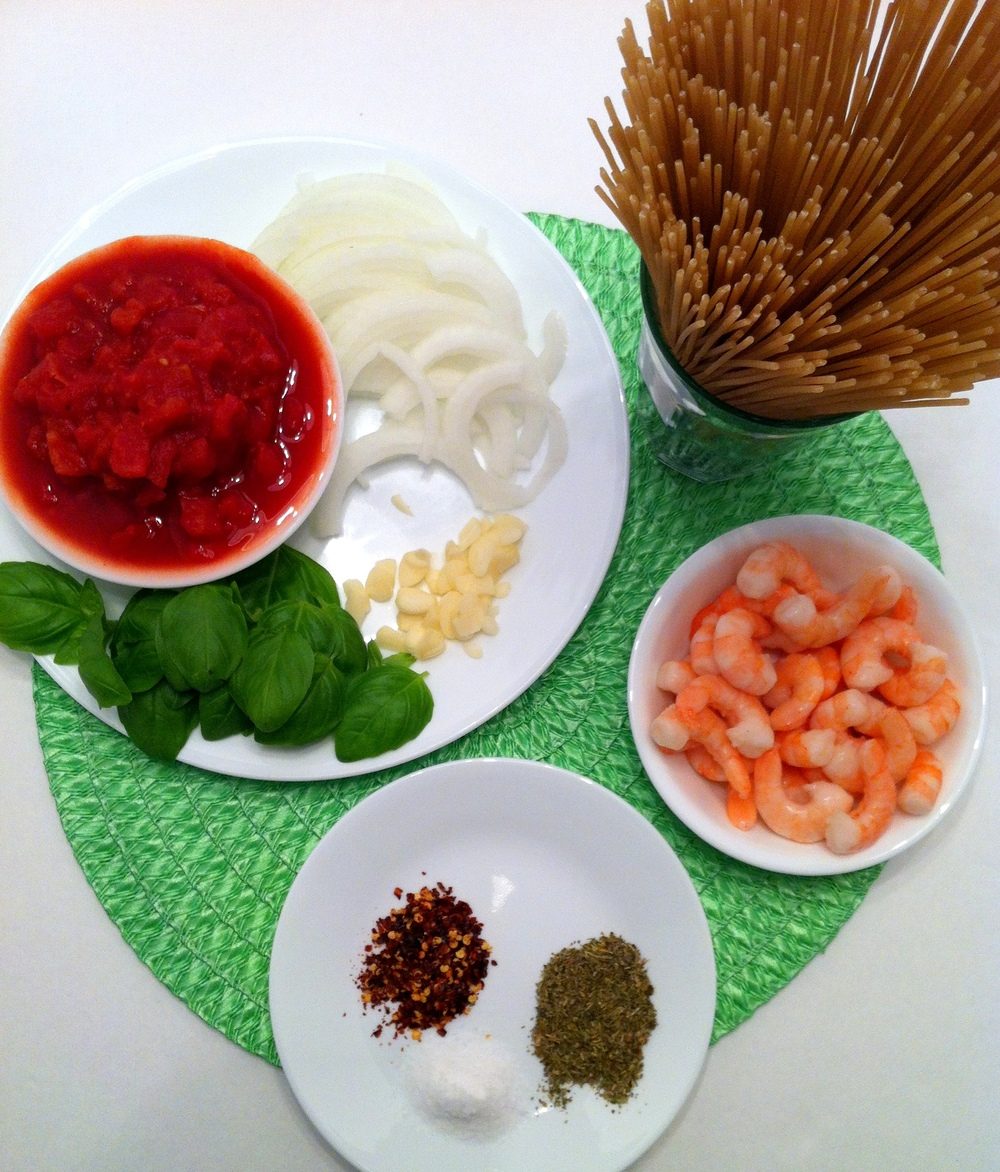 One Pot Pasta Ingredients