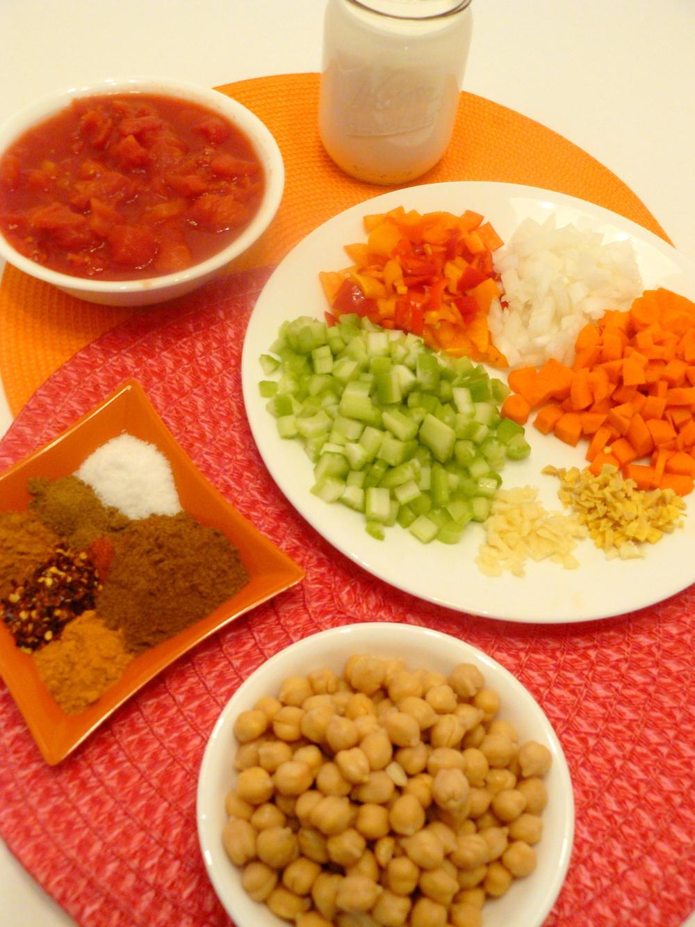 Tikka Masala Ingredients