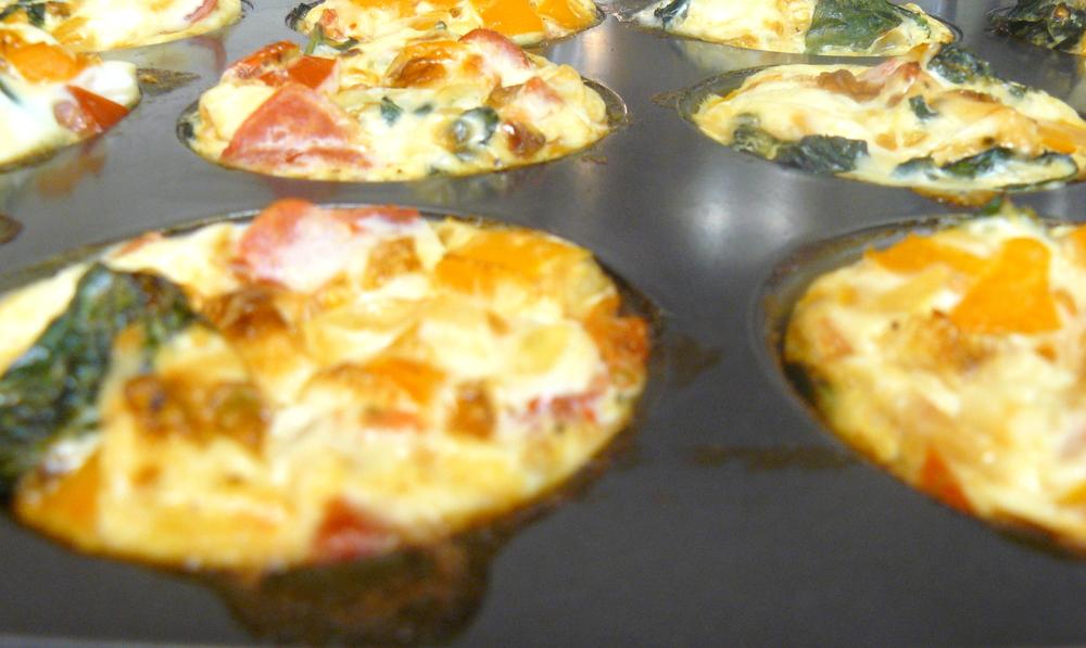 Veggie Egg Muffin in Pan