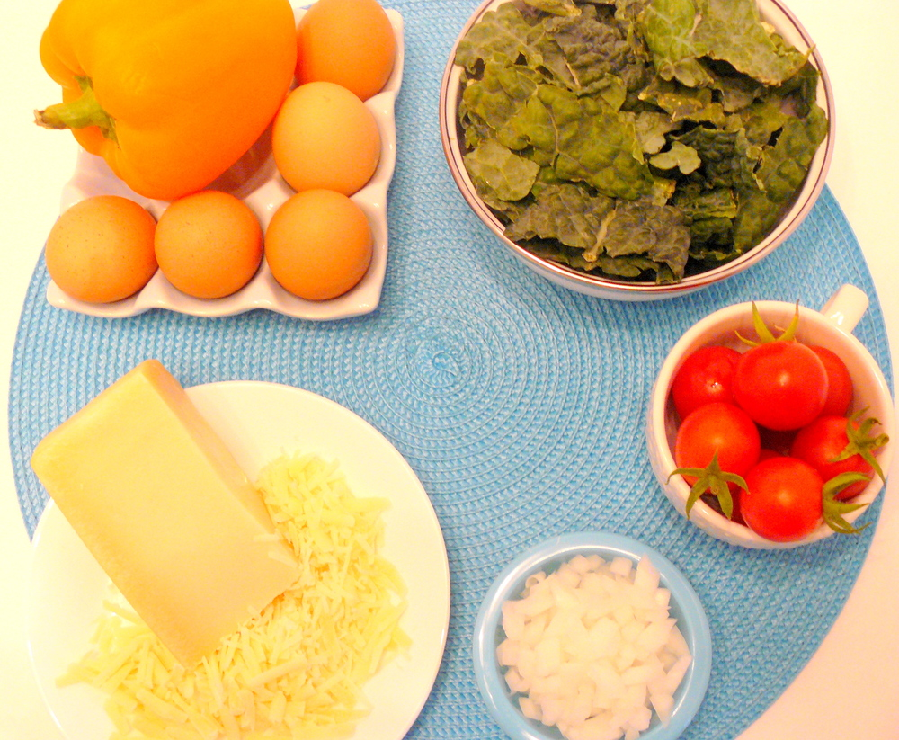 Veggie Egg Muffin Ingredients