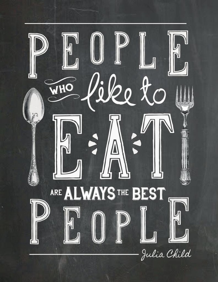 people whoe love to eat