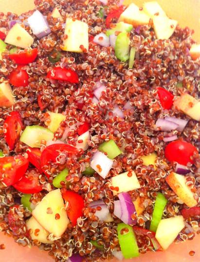 quinoa veggie salad