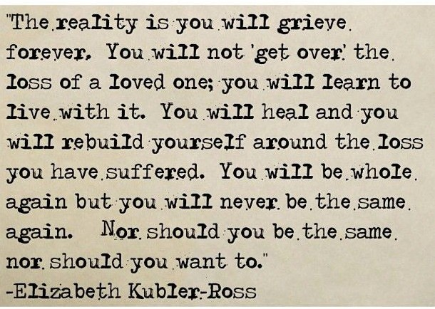 kubler-ross quote