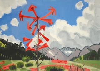 Plein air painting.