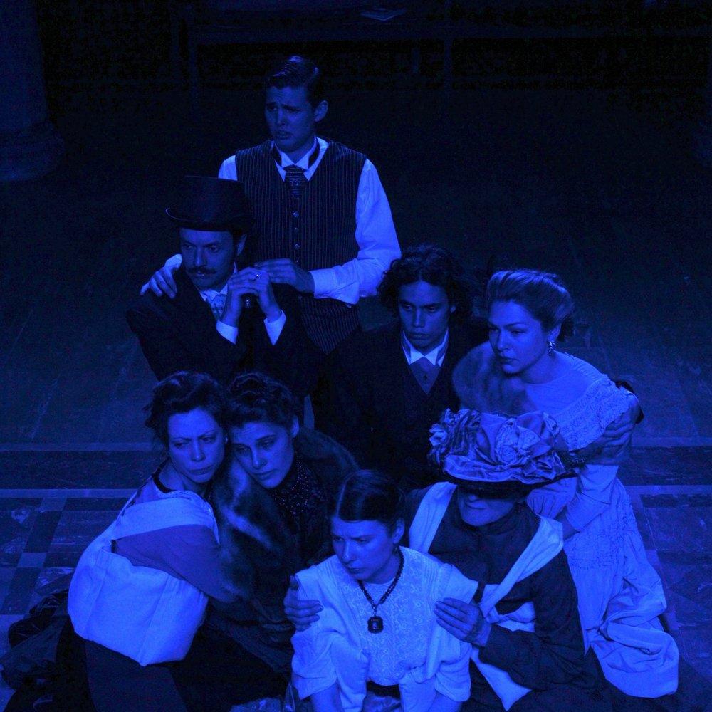 Philadelphia Cast: Xavier O'Shannessy, Kliment Poposki, Eben Rojer, Lena Taege, Petra Glieson, Leah Thompson Costello, Linda Schapley & Caroline Bainbridge