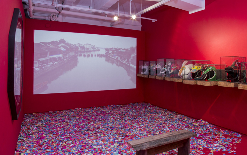 The Rematch, Installation View