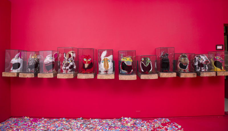 Masks of the Opera Singers, 2012