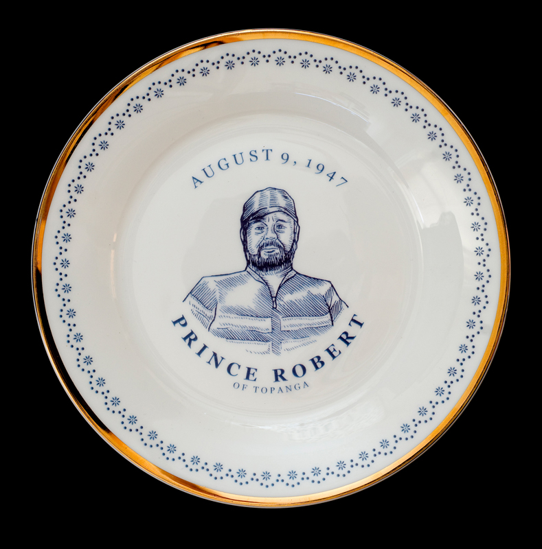 Prince Robert Topanga, Laird Royal Family Commemorative Plate Series, 2010.