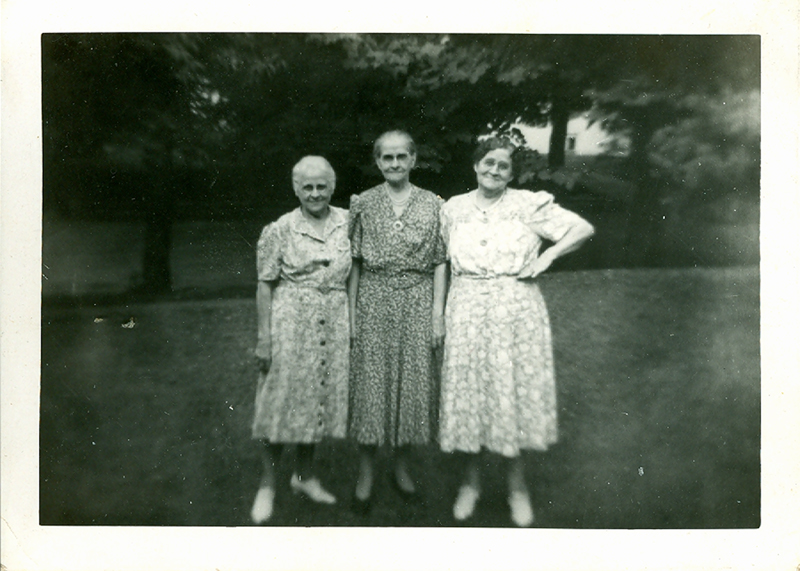 Maggie, Kate and Nellie (Laird Sisters)